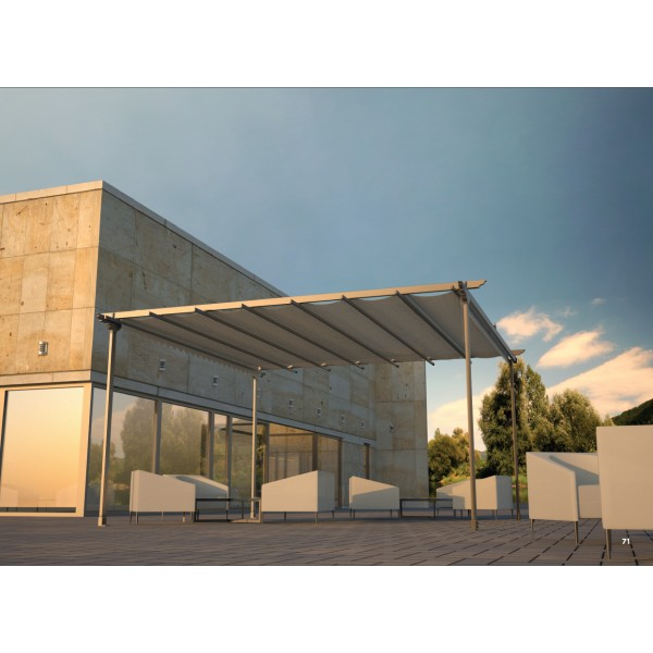 toldo corredero de guias kit toldo plano with toldo