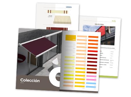 Catálogo de muestras