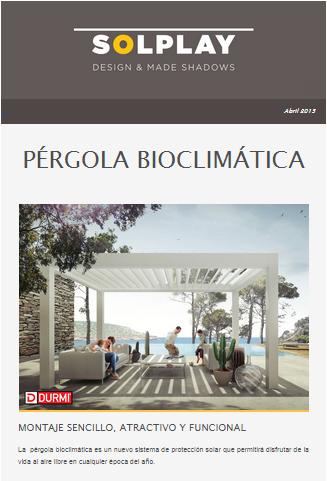 Newsletter pérgola Bio